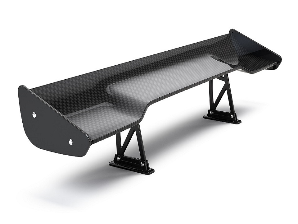 Composite Materials Engineering (CME) carbon fibre spoiler