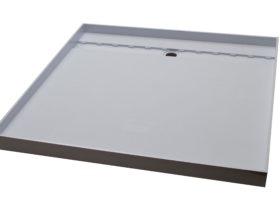 Tile over shower base 2