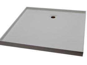 Tile over shower base 1